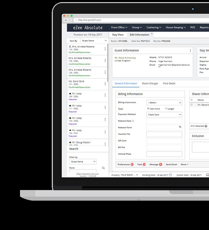 User-friendly Online Hotel Management Solution